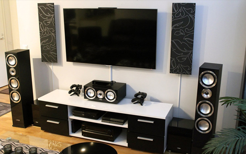 Home Theater Setup - Commercial or Home Multimedia Equipment & TV ...
